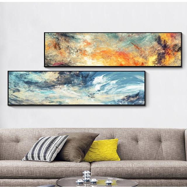 Preis überprüfen Wolke Farbe Moderne Abstrakte Ölgemälde auf ...
