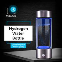 Portable Water Bottle Ionizer Hydrogens Generator For H2 Rich Hydrogens Water Bottle Ionizer 450ML USB Electrolysis Hidrogen