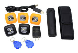 Patrol-Monitoring-System Checkpoint-Tag Software V1-Guard RFID Id-Tags Cloud-Based Outdoor