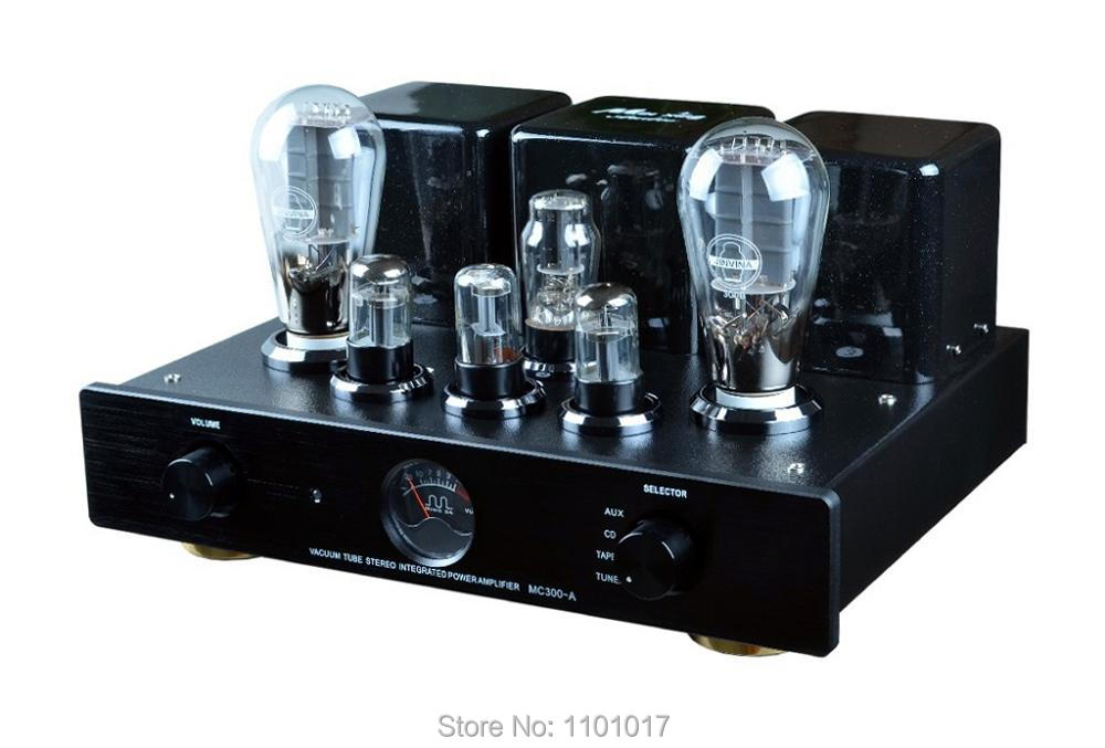 MeiXing MingDa MC300-A 300B-N Tube Amplifier HIFI EXQUIS Signel-Ended Integrated 300B Triode Lamp Amp