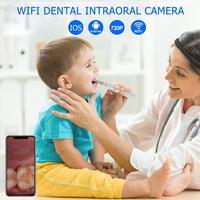 WIFI Dental Intraoral Camera HD 720P IP67 Waterproof Endoscope Teeth Mirror Dental Cleaning dental material