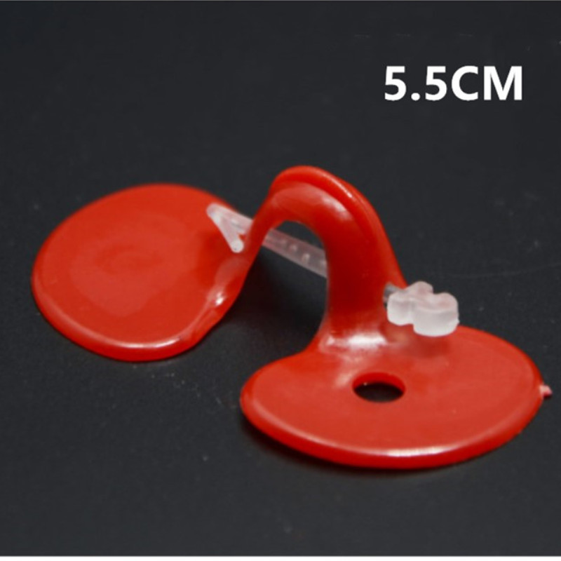 50pcs Red Plastic Chicken Eyes Peeper Glasses Spectacles Protector Hen Pecking