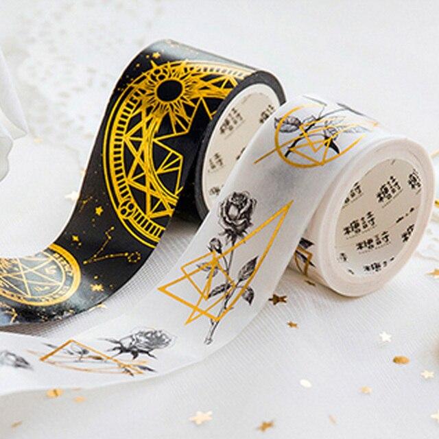 2-5cm*5m Beautiful Astrolabe   Cute w34 Masking Scrapbooking Stikcer  Creative  Adhesive Decoration Student Supplies Washi Tape