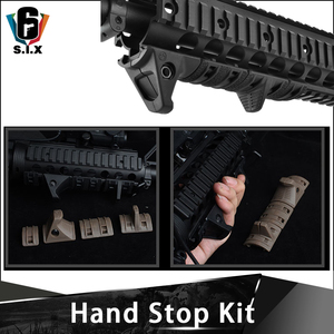 4 PCS/SET EMagpul Hand Stop Kit Handguard Panels Picatinny Rail Handguard|Scope Mounts & Accessories| |  -
