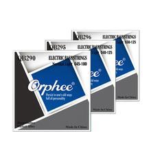 где купить Orphee 4/5/6 String Electric Bass Strings Deep Timbre Nickel Alloy Hexagonal Core Nano Coated Electric Bass Parts Accessories по лучшей цене
