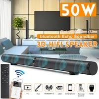 bluetooth Soundbar 3D Home Theater Sound System Sound Bar Wireless Speaker For TV AUX HDMI ARC RCA Optical Input