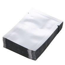 100 шт серебряная алюминиевая фольга майларовые пакеты вакуумная