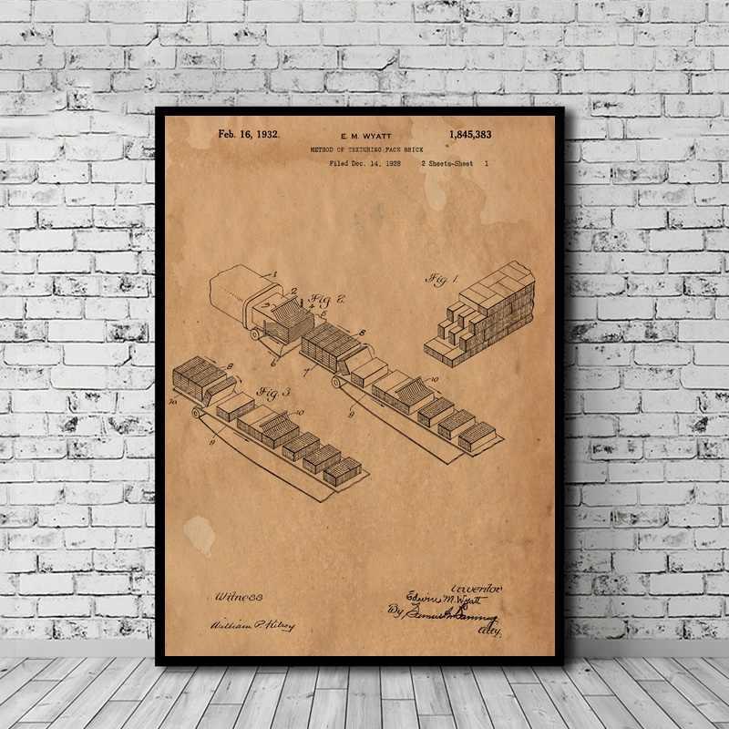 Метод текстурирования лица кирпич патент книги по искусству печатные плакаты