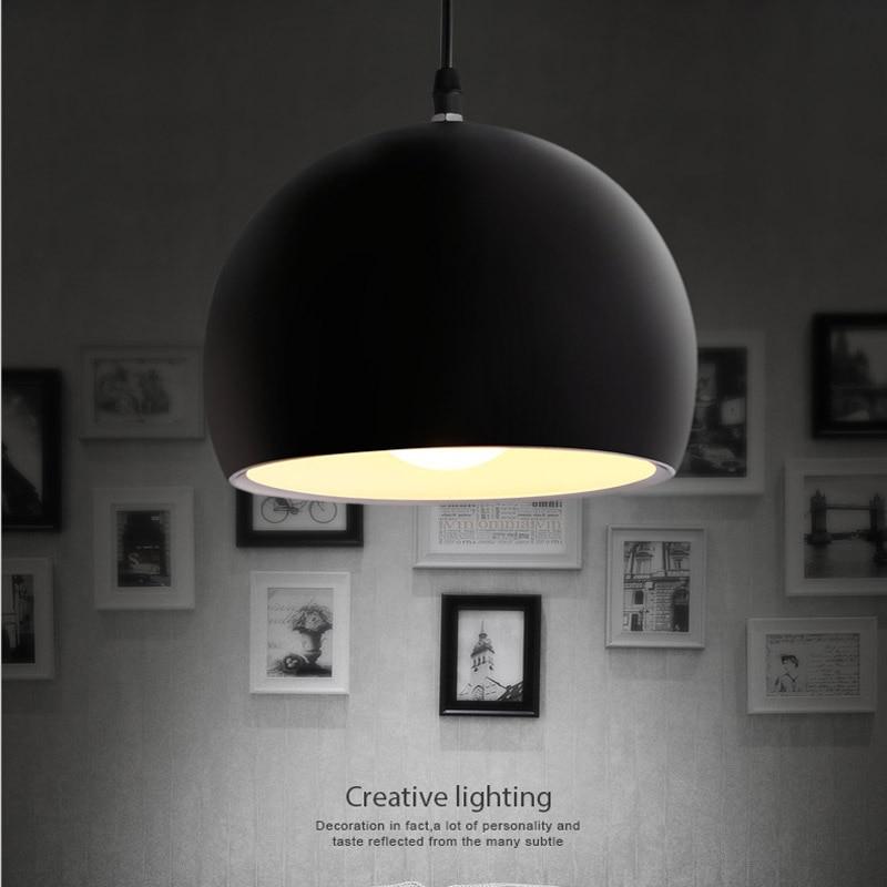 Modern függő lámpa 110V-220V E27 Nordic Cafe bárdísz - Beltéri világítás