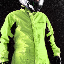 Bicycle Men Rainsuit Rain gear Motorcycle Jacket Set Women Poncho Raincoat Abrigos Mujer Impermeable Cover Suit 6R083