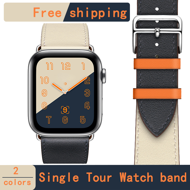 [new store promotion] leather band herm loop strap single tour for apple watch series 4 1 2 3 iwatch 40MM 44mm men women[new store promotion] leather band herm loop strap single tour for apple watch series 4 1 2 3 iwatch 40MM 44mm men women