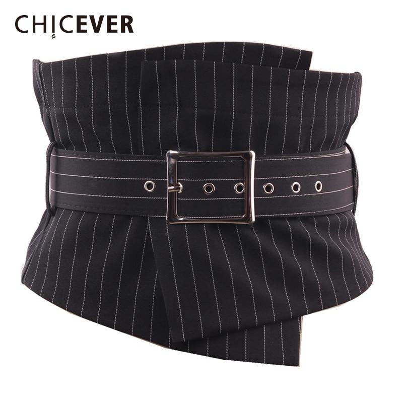CHICEVER 2020 Fashion Slim Female Belt For Women Cummerbunds Spring Summer New