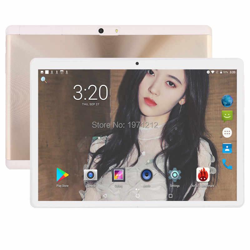 "Envío Gratis Tablet PC Android Tab Pad 10 pulgadas IPS 10 Core 4 GB RAM 64 GB ROM tarjeta SIM Dual tabletas de 10,1 ""llamada telefónica LTD"