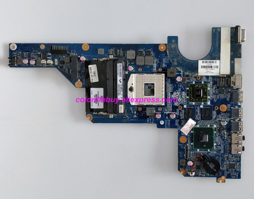 Genuine 636372 001 DA0R12MB6E1 w HD6470/1G HM55 Laptop Motherboard for HP G4 G6 1000 Series G4T 1000 G7T 1000 NoteBook PC-in Laptop Motherboard from Computer & Office