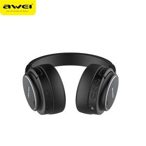 Image 3 - Original AWEI A950BL หูฟังบลูทูธ ANC ลดเสียงรบกวนไร้สาย bluetooth หูฟังหูฟังกับไมโครโฟนแฮนด์ฟรี