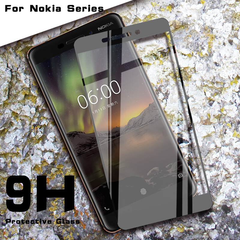 Protective Glass For <font><b>Nokia</b></font> 8.1 <font><b>7.1</b></font> 6.1 5.1 8 7 6 5 3 2 2018 2017 x5 x6 Plus <font><b>Screen</b></font> <font><b>Protector</b></font> on For Nokia5 Nokia7 Nokia8 Nokia3 image