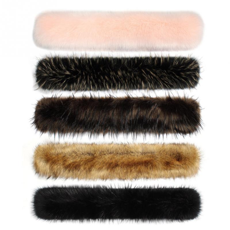 Trendy Elegant Women Faux Fur Shawl   Scarf     Wrap   Shrug Collar for Winter Coat