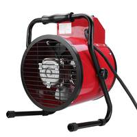 Adjustable Industrial Electric Heater Fan Commercial Warm Heater Blower Air Workshop Space Garage Heating Appliances 3000W