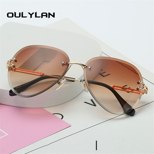 Oulylan Rimless Sunglasses  4