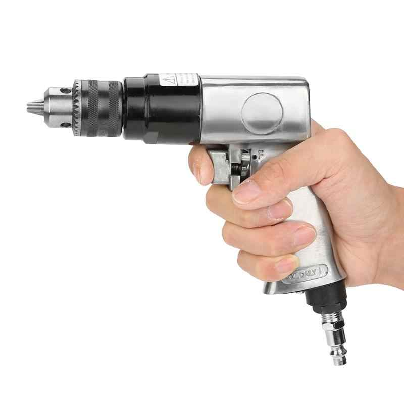 3//8 1700rpm Power Drill Drivers High-speed Pneumatic Drill Reversible Rotation Air Drill Tool for Hole Drilling