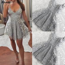 Hiqh Quality Elegant V neck Reveal Back 2019 Dress Sexy Shivering Camisole Women Long Party Robe Mopping Dresses