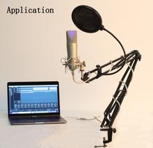 Free Shipping!!! YARMEE Professional Recording Microphone Studio Computer YR01 YR02 YR03