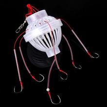 Outdoor Fishing Tackle Sea Fishing Box Hook Monsters with Six Sharp Fishing Hooks