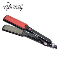 Keratin Hair Straightener Straightening Irons Professional Titanium Flat Iron With  230 Degree High Temperature