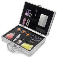 Kimcci Professional Individual Eyelash Extension Kit Faux Eyelashes Grafting Training Kits False Eyelash Glue+Debonder+Tweezers