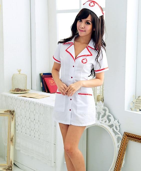 Classic Nurse Dress Role-playing Game Suit Stage Performance Costume Uniform Temptation QL Sale