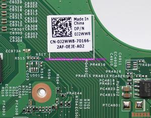 Image 4 - Натуральная CN 0J2WW8 0J2WW8 J2WW8 GT525 1 ГБ HM67 DDR3 Материнская плата для ноутбука Dell Inspiron 15R N5110