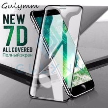 7D Aluminum Alloy Tempered Glass For iPhone 6 6S 7 8 Plus Full Screen Protector Protective On The For iPhone X XS XR Max Cover r just protective aluminum alloy frame case screen guard set for iphone 6 plus gold grey