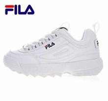 2018 FILAS Disruptor II 2 Men and Women Sneaker Running Shoes White summer Increased Outdoor Sneaker size 36-44 Fashion(China)