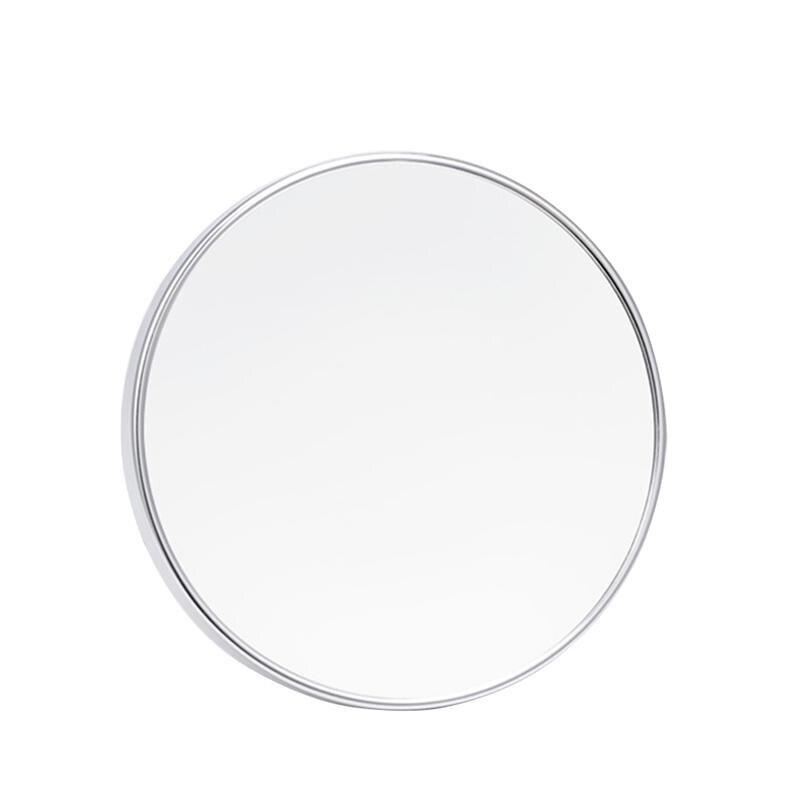 Haut Pflege Werkzeuge 5x Vergrößerungs 5,9 Zoll Runde Eitelkeit Kosmetik Spiegel Mit 3 Saugnäpfen Für Kosmetische Make-up