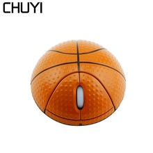 CHUYI 2.4G Wireless Mouse Basketball Optical 1000DPI Gaming Mause sem fio USB Receiver Computer Mice For Laptop PC Desktop Gamer 2 4ghz wireless gaming mouse usb receiver pro gamer mice professional computer mouse for pc laptop desktop