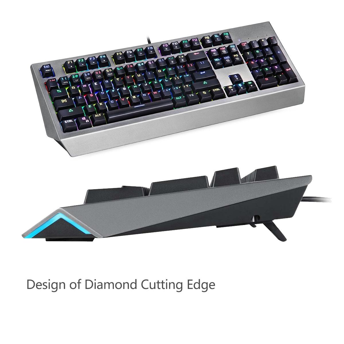 V30 3500 DPI 4 niveaux couleur rvb LED lumineux souris de jeu optique Combos clavier pour PC Gamer USB clavier souris rétro-éclairé - 3