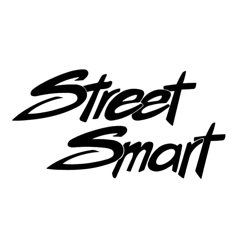 Street Smart Racing Race Saying Cars Laptop Bumper Vinyl Decal Sticker