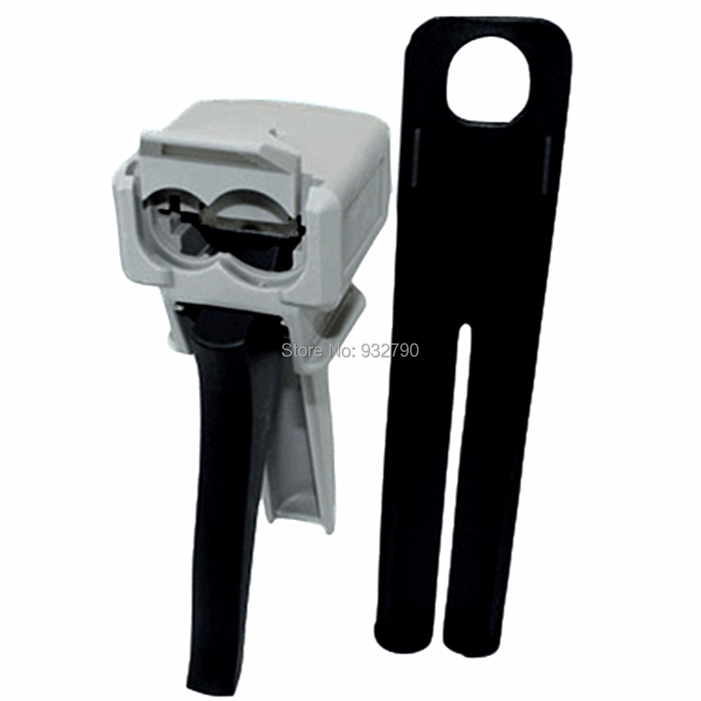 1:1 Dispensing Gun Manual Applicator Adhesive Dispensers For 50ml Cartridges Epoxy Resin AB Glue Acrylic Glue Mixing Dispensing