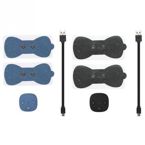 Image 2 - Mini USB Electric Low Frequency Current Pulse Massager Pads for Shoulder Neck Waist Arm Legs Massage Relaxation