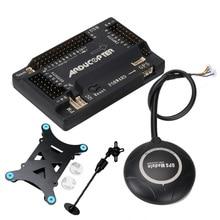 APM 2,8 APM 2,8 Контроллер полета Ardupilot + 7 м gps встроенный компас + gps Стенд + амортизатор для RC Quadcopter Multicopter