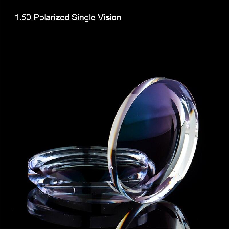 Coyee 1.50 lentille de Prescription optique asphérique à Vision unique polarisée myopie presbytie lentilles de protection UV pour femmes hommes lunettes