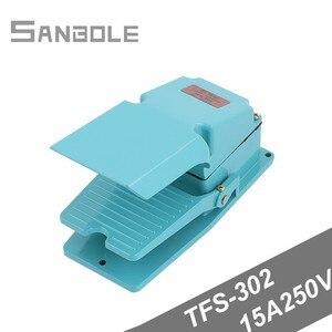 Ножной переключатель TFS-302 TFS302 Серебристые контакты алюминиевый корпус 15A250V регулятор беговой дорожки саморезный выключатель питания