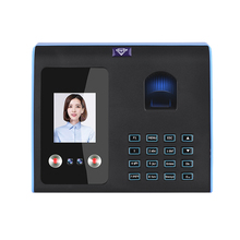Интеллектуальная машина посещаемости отпечаток лица распознавание паролем смешанные Биометрические часы времени для сотрудников