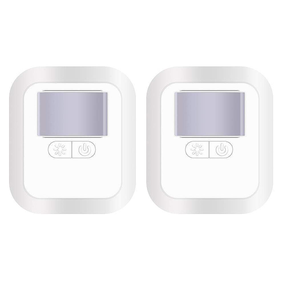 Plug In Led Night Light - Adjustable Brightness Nightlight With Dusk To Dawn Sensor For Kids Room, Hallway, Bathroom, Sta