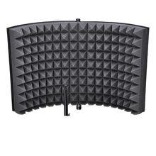 Студийный микрофон изоляция щит акустическая запись звук абсорбер пена панель