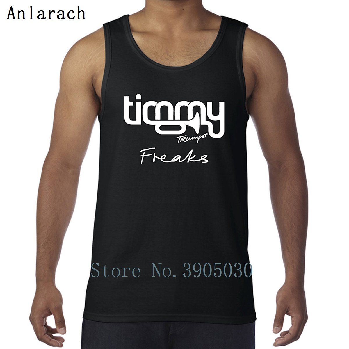 Timmy Trumpet Freaks Vest Muscle Fun Original Printing   Tank     Top   For Men Singlets Comical 2018 Anlarach 100% Cotton