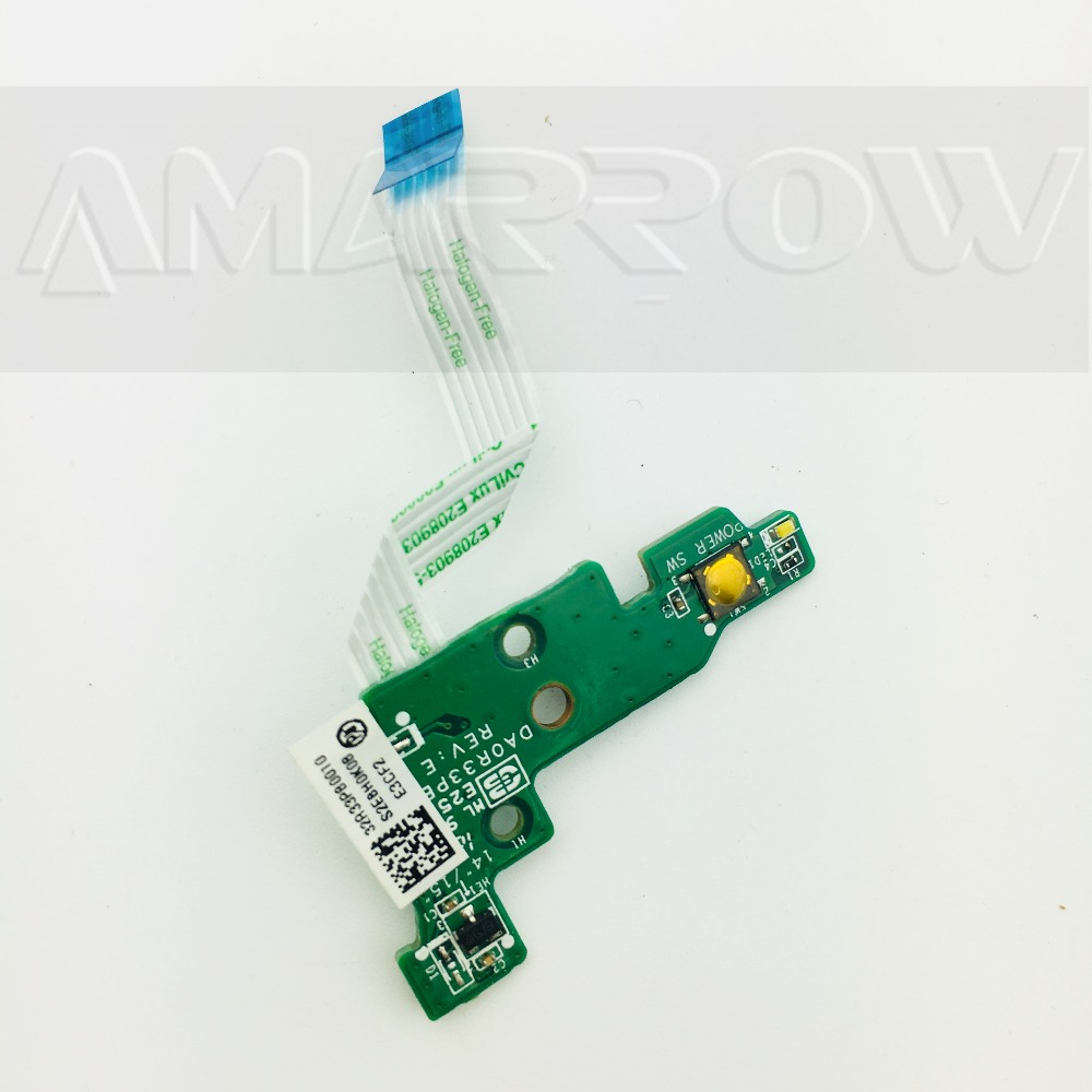 Original For HP G4-2000 G6-2000 Power Button Board Switch Board  DAOR33PB6E0 DA0R33PB6E0