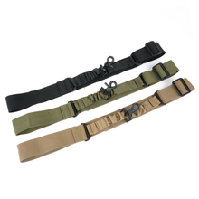VIM Outdoor Nylon Adjustable Multipurpose One Point Tactical Rifle Sling Hunting Gun Strap Hiking Airsoft Mount Bungee System tactical hunting gun sling adjustable 1 single point bungee rifle sling strap system new 3 colors