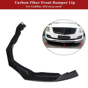 3pcs Carbon Fiber Front Bumper