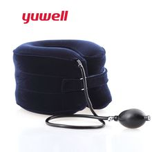 Yuwell C Type Neck Traction Therapy Cervical Vertebra Supports Collar Orthopedics Health Care Inflatable Massager Medical